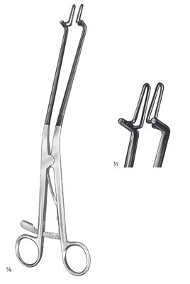 "Kogan endospecula, with ratchet, 6x23mm, 28cm, 11"", insulated for laser- and electrosurgery"