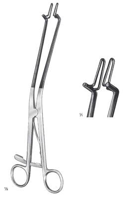 "Kogan endospecula, with ratchet, 4x23mm, 28cm, 11"", insulated for laser- and electrosurgery"